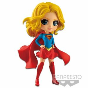 DC Comics Q Posket Supergirl (Blue Outfit) [Variant B]