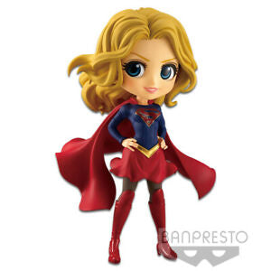DC Comics Q Posket Supergirl (Dark Blue Outfit) [Variant A]