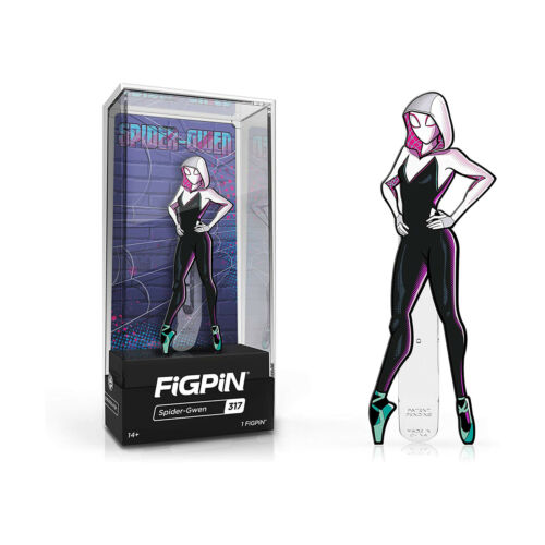 Spider-Man: Into The Spider-Verse FiGPiN Enamel Pin Spider-Gwen (NYCC 2019 Exclusive) [299]
