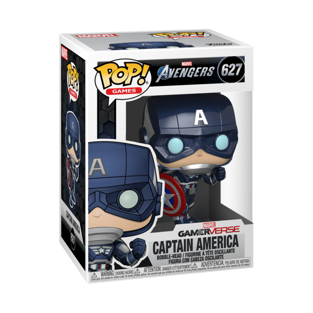 Marvel Avengers Game Pop! Vinyl Figure Captain America [627]