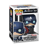 Marvel Avengers Game Pop! Vinyl Figure Captain America [627] - Fugitive Toys