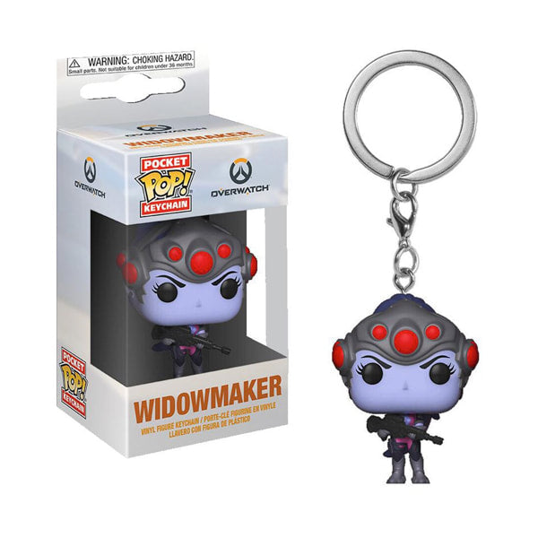 Overwatch Pocket Pop! Keychain Widowmaker