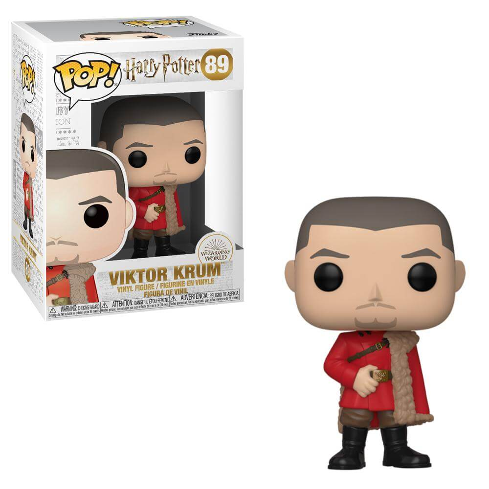 Harry Potter Pop! Vinyl Figure Viktor Krum (Yule) [89]