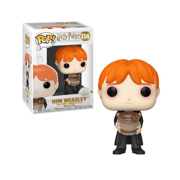 Harry Potter Pop! Vinyl Figure Ron Weasley (Puking Slugs with Bucket) [114]