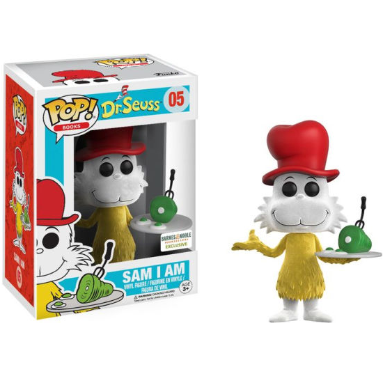 Dr. Seuss Pop! Vinyl Figure Sam I Am (Flocked) [05]