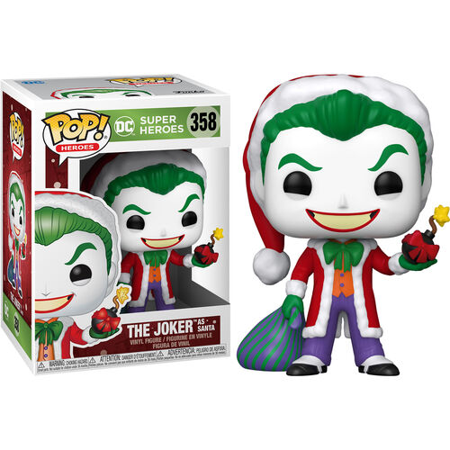 DC Holiday Pop! Vinyl Figure Joker as Santa [358]