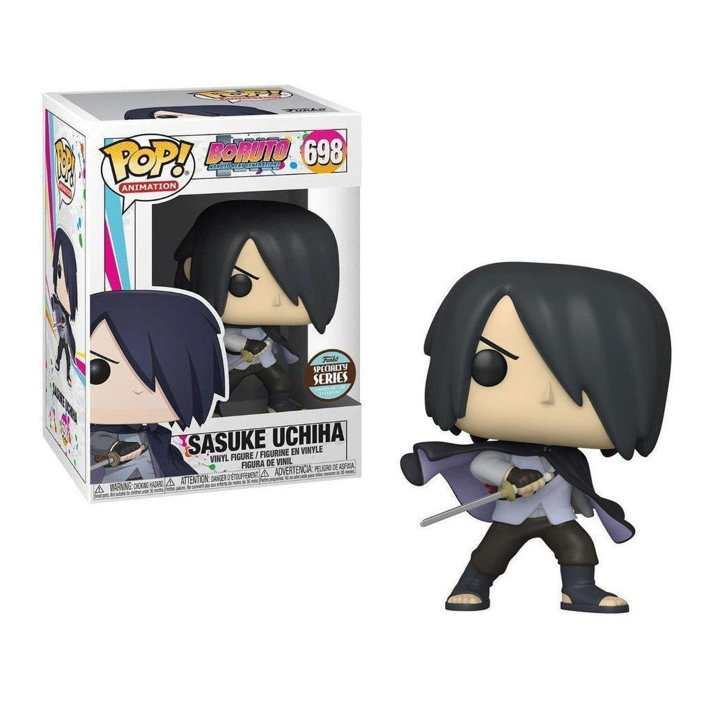 Boruto Pop! Vinyl Figure Sasuke Uchiha w/Cape (No Arm) Specialty Series [698]