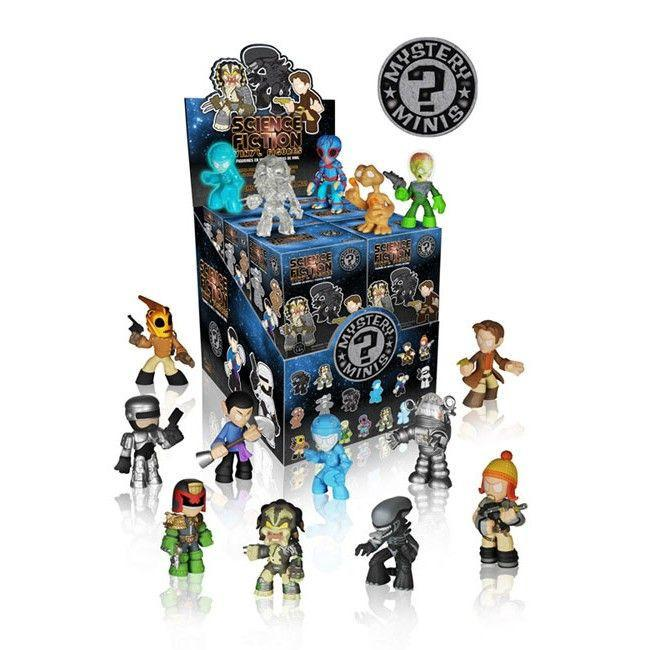 Science Fiction Mystery Minis: (Case of 12)