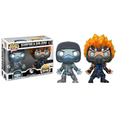 Mortal Kombat Pop! Vinyl Figure Scorpion and Sub-Zero [2-pack] - Fugitive Toys
