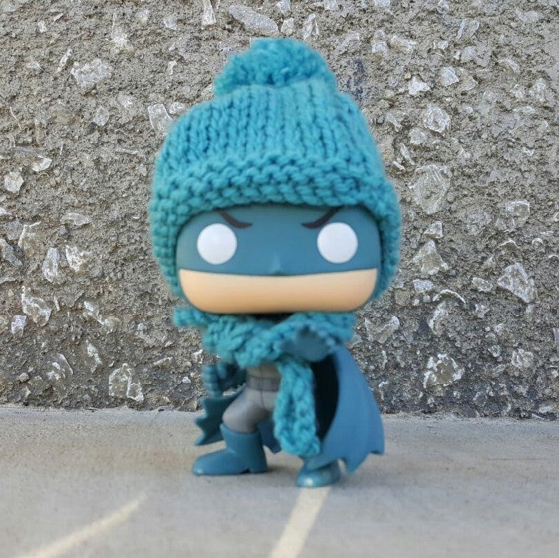 Pop! Apparel Knitted Beanie & Scarf Set [Sea Green] - Fugitive Toys