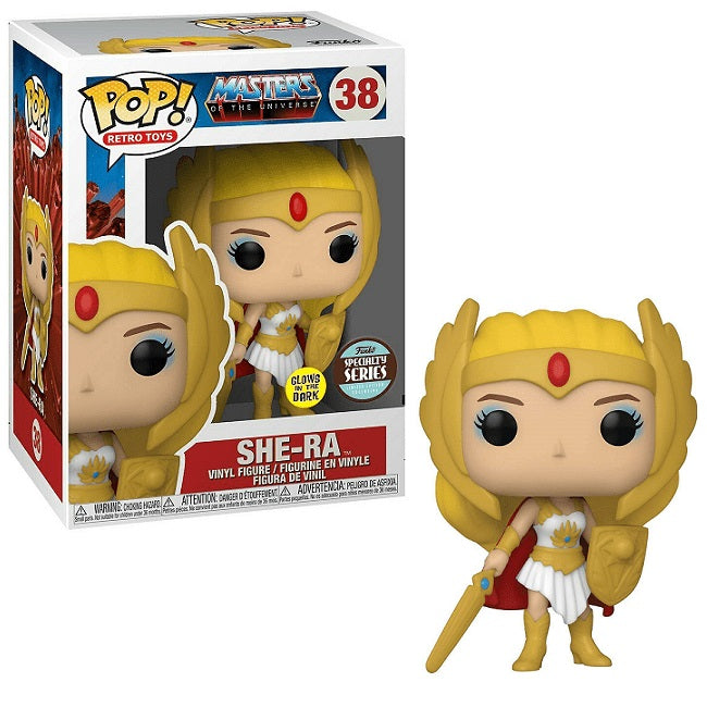 Masters of the Universe Pop! Vinyl Figure Classic She-Ra (Glow Specialty Series) [38]