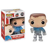 The Big Bang Theory Pop! Vinyl Figure Sheldon Cooper: Star Trek Blue Shirt [SDCC 2013 Exclusive] [73] - Fugitive Toys