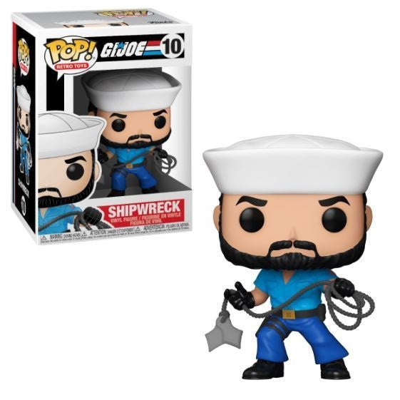 G.I. Joe Pop! Vinyl Figure Shipwreck [10]