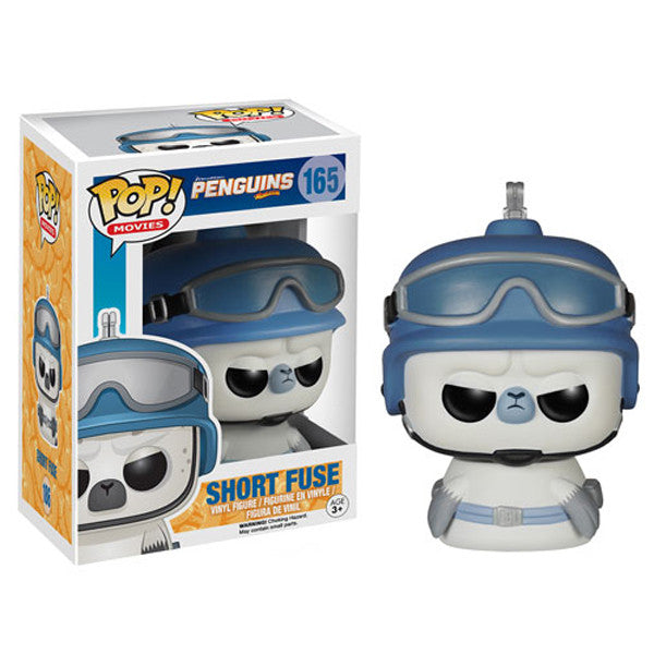 Movies Pop! Vinyl Figure Short Fuse [Penguins of Madagascar]