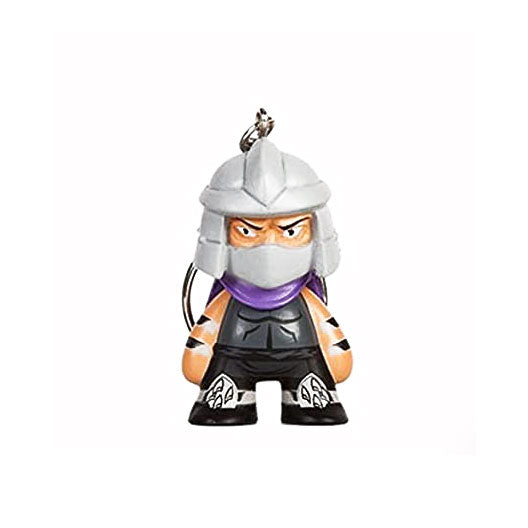Kidrobot x Teenage Mutant Ninja Turtles Keychain Series - Shredder - Fugitive Toys