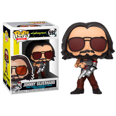 Cyberpunk 2077 Pop! Vinyl Figure Johnny Silverhand [592] - Fugitive Toys