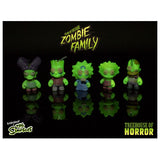 Kidrobot x The Simpsons Tree House of Horrors Zombie Family 5 Pack (GITD) - Fugitive Toys
