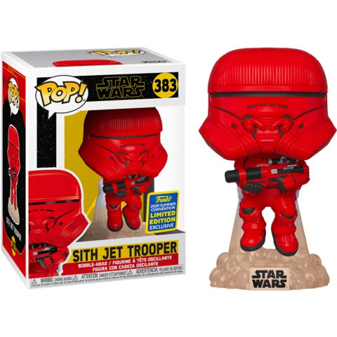 Star Wars Pop! Vinyl Figure Sith Jet Trooper (2020 Summer Convention Exclusive) [383]