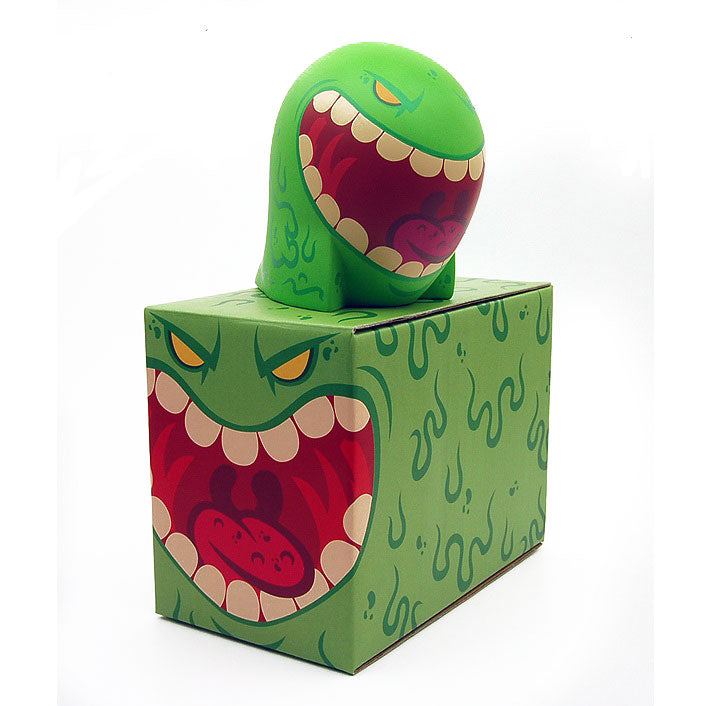 Jamungo Slimeball Sqwerts Green Vinyl Figure designed by MAD - Fugitive Toys