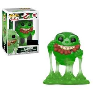 Ghostbusters Movie Pop! Vinyl Figure Slimer with Hot Dogs (Translucent) [747]