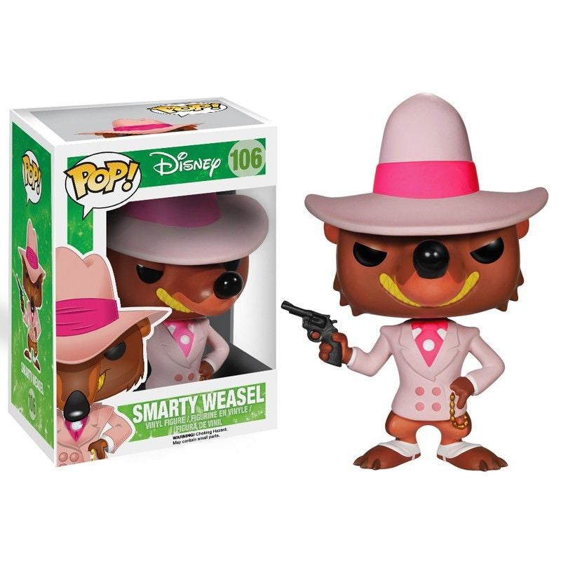 Disney Pop! Vinyl Figure Smarty Weasel [Who Framed Roger Rabbit]