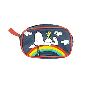 Loungefly x Peanuts Snoopy Rainbow Pouch