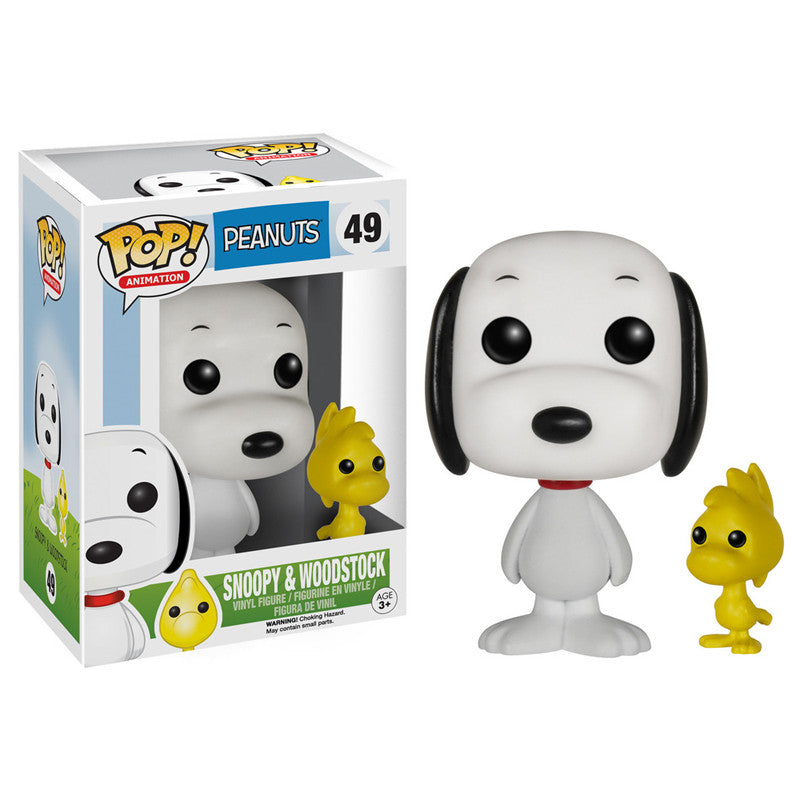 Peanuts Pop! Vinyl Figure Snoopy & Woodstock