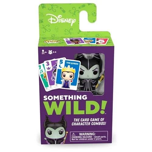 Disney Something Wild Pop! Card Game Villains Maleficent - Fugitive Toys