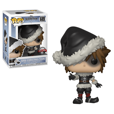Kingdom Hearts Pop! Vinyl Figures Christmas Town Sora [449]