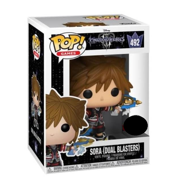 Kingdom Hearts 3 Pop! Vinyl Figure Sora (Dual Blasters) [492]