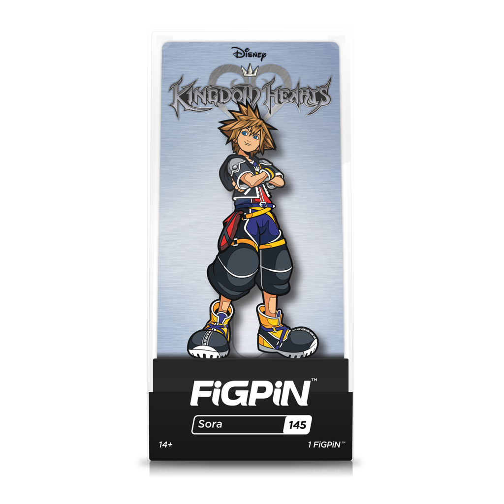 Disney Kingdom Hearts: FiGPiN Enamel Pin Sora [145]