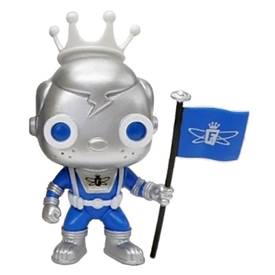 Freddy Funko Pop! Vinyl Figure Space Robot Silver & Blue (LE2000) [SE] - Fugitive Toys