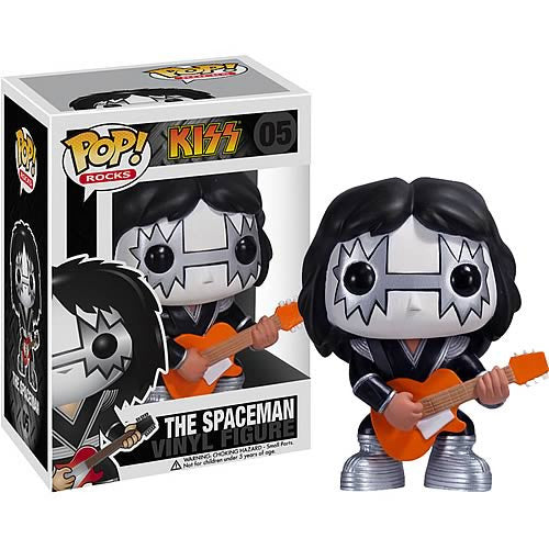 Rocks Pop! Vinyl Figure KISS - The Spaceman [05]