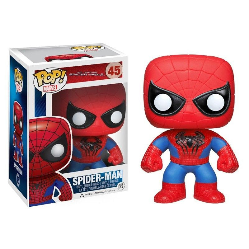 Marvel The Amazing Spider-Man 2 Pop! Vinyl Figure Spider-Man [45] - Fugitive Toys