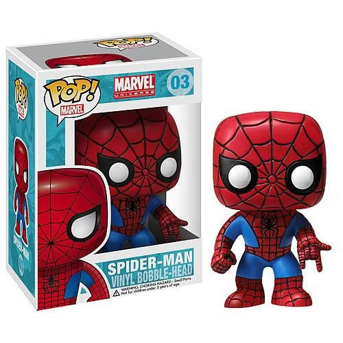 Marvel Pop! Vinyl Bobblehead Spider-man [03]