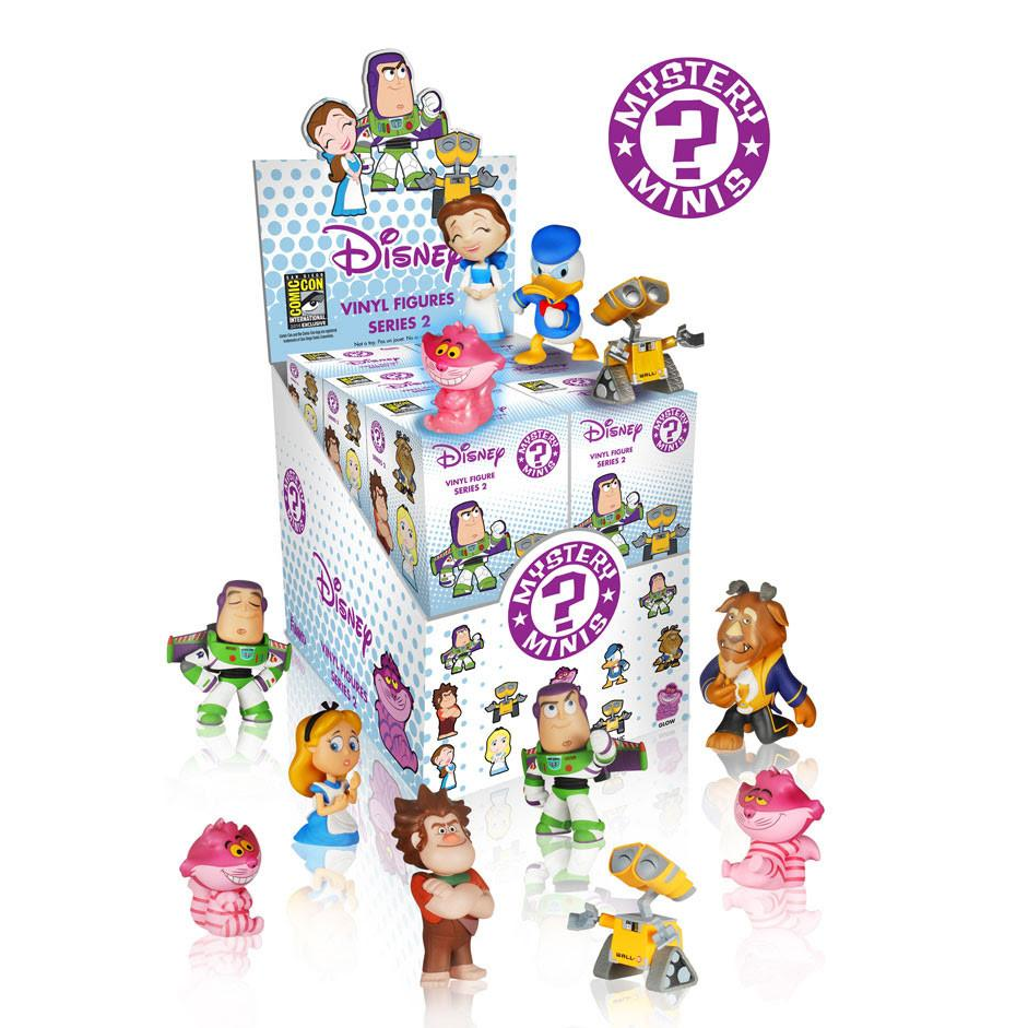Disney Mystery Minis Series 2 [SDCC 2014 Exclusive]: (1 Blind Box)