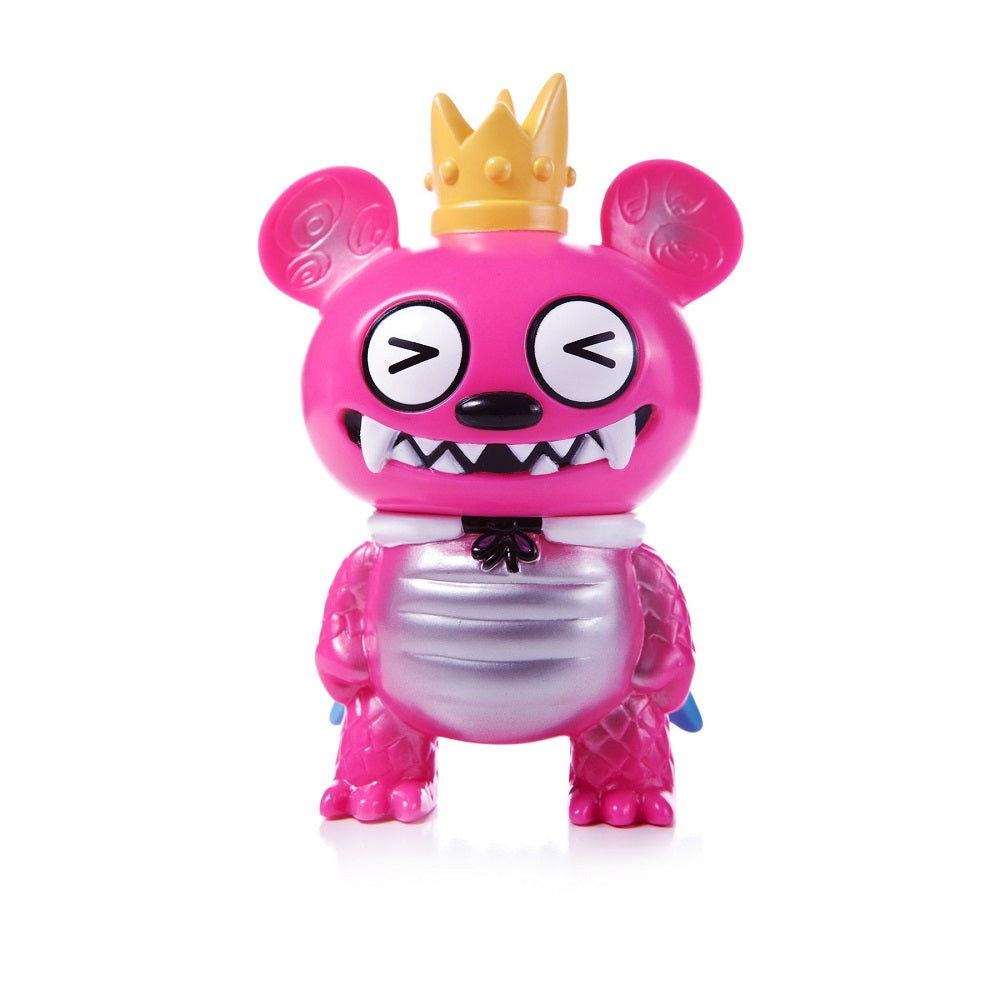 Bossy Bear Kaiju Pink (Squinty Eyes) Strange Beast Collection