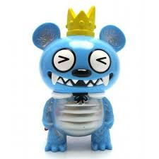 Bossy Bear Kaiju Blue (Squinty Eyes) Strange Beast Collection