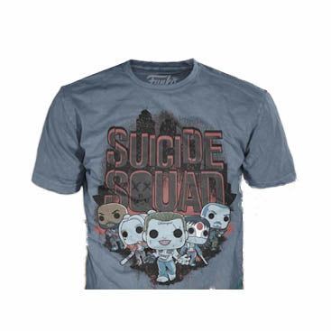 Pop! Tees DC Comics Suicide Squad (Collector Corps Exclusive) Extra Large
