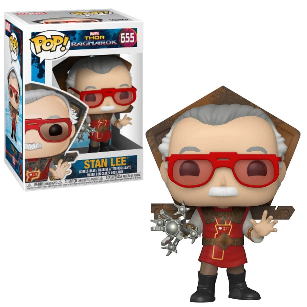 Marvel Icons Pop! Vinyl Figure Stan Lee in Ragnarok Outfit [655]