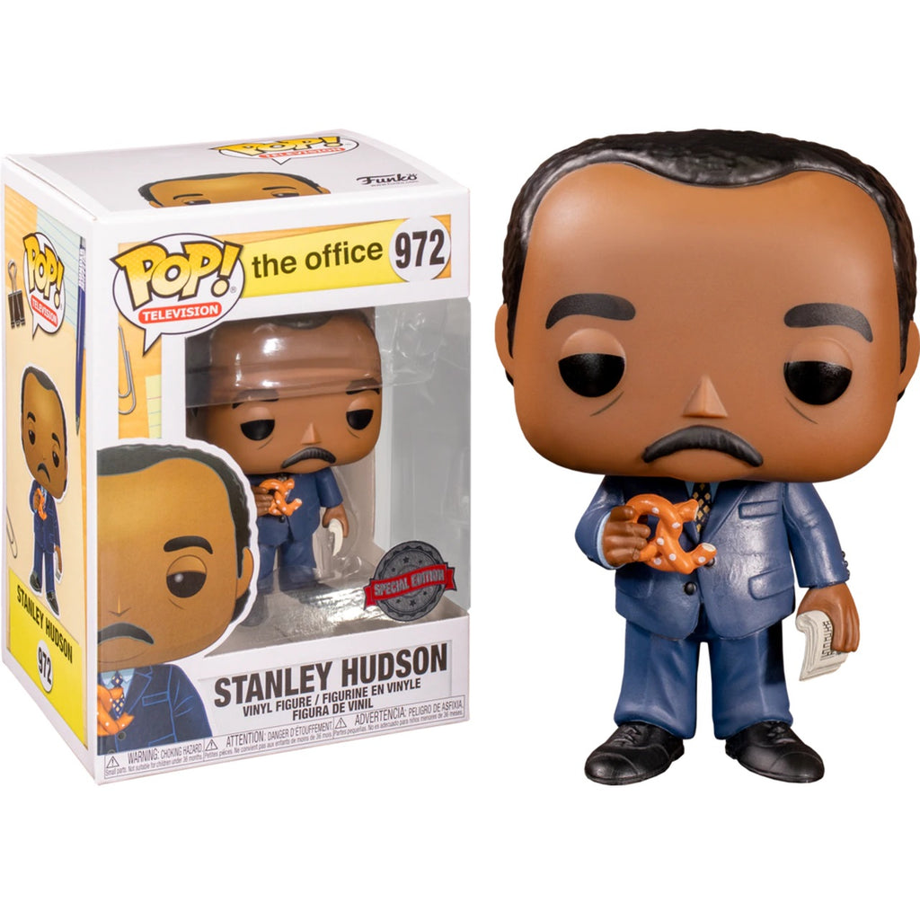 The Office Pop! Vinyl Figure Stanley Hudson with Pretzel [972]
