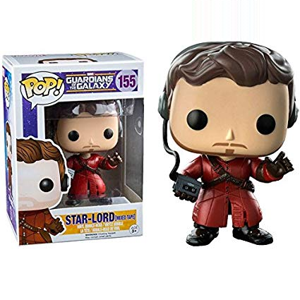 Guardians of the Galaxy Pop! Vinyl Figures Mixed Tape Star-Lord [155]