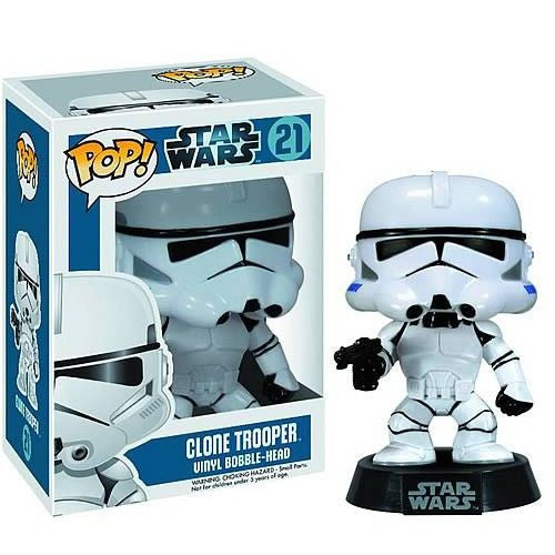 Star Wars Pop! Vinyl Bobblehead Clone Trooper [21] - Fugitive Toys