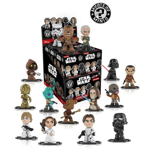Star Wars [Game Stop Exclusive] Mystery Minis: (1 Blind Box) - Fugitive Toys