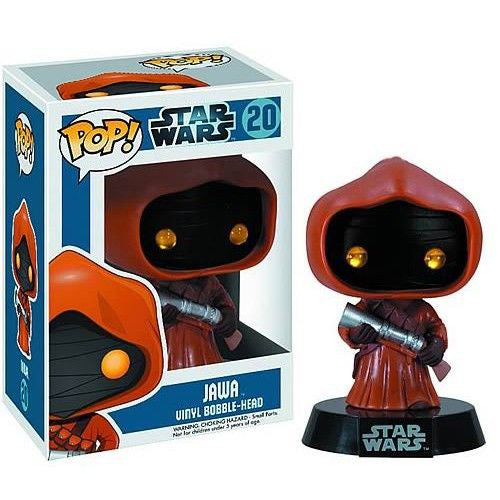 Star Wars Pop! Vinyl Bobblehead Jawa [20] - Fugitive Toys