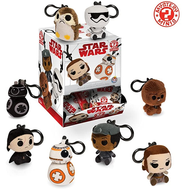 Funko Star Wars Mystery Minis Plushies: (1 Blind Pack)