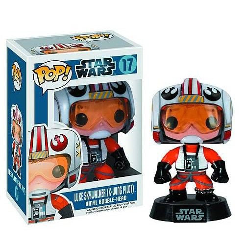 Star Wars Pop! Vinyl Bobblehead X-Wing Pilot Luke Skywalker