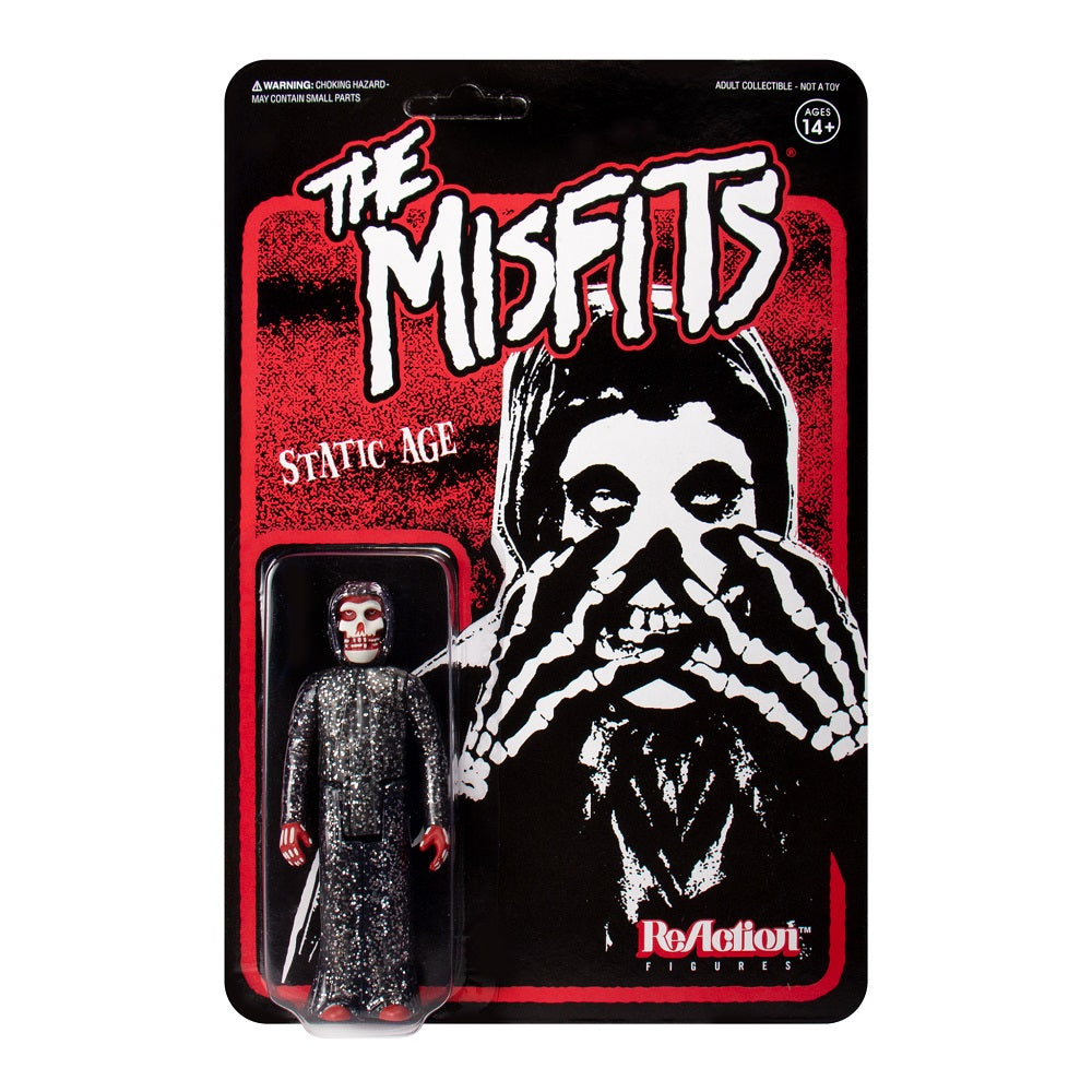 Super7 The Misfits Fiend Static Age ReAction Figure [2019 SDCC] - Fugitive Toys