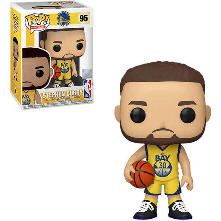 NBA Pop! Vinyl Figure Stephen Curry Alternate Jersey (Warriors) [95]