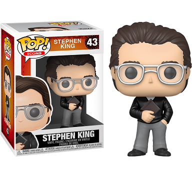 Icons Pop! Vinyl Figure Stephen King [43]